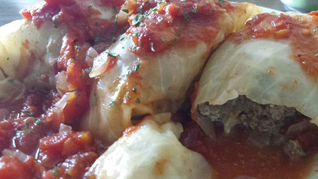 "My family lights up when they see stuffed cabbage rolls. They are a treat that creates many ""oohs, and yums"" around the table. Enjoy!"