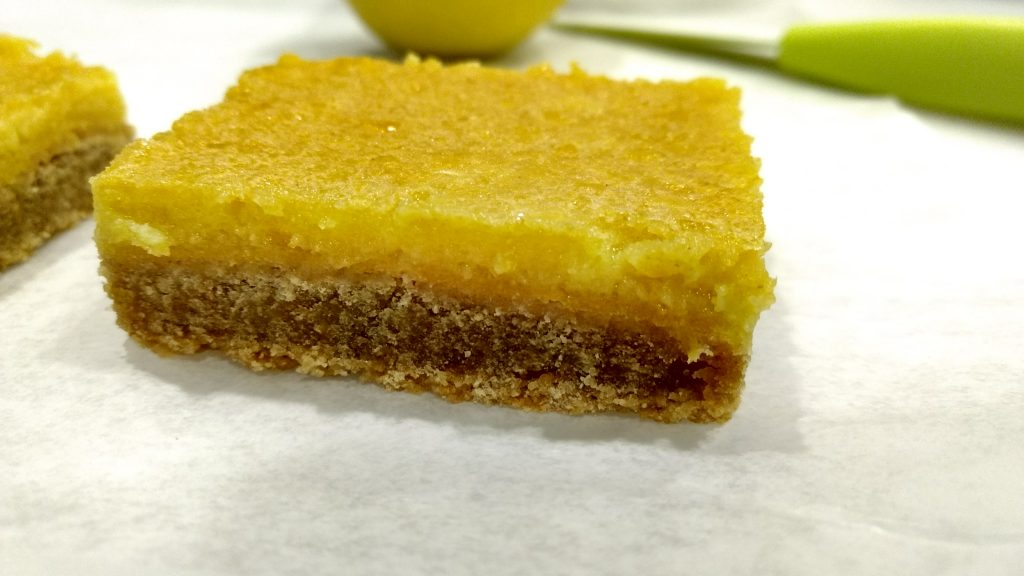 Within about 2 hours your Lemon Bars should be cool enough to eat