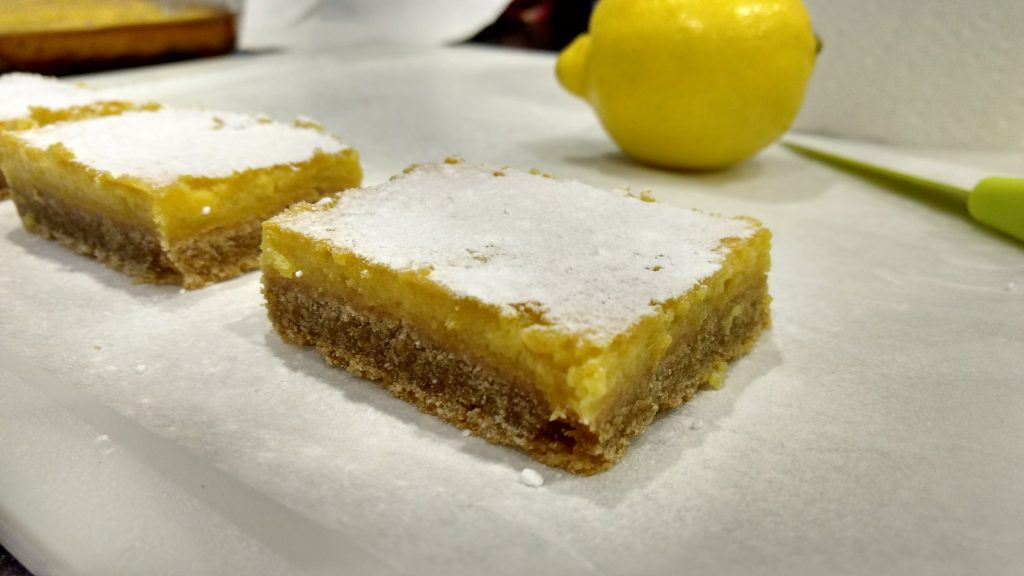Lemon bars are truly one of my guilty pleasures