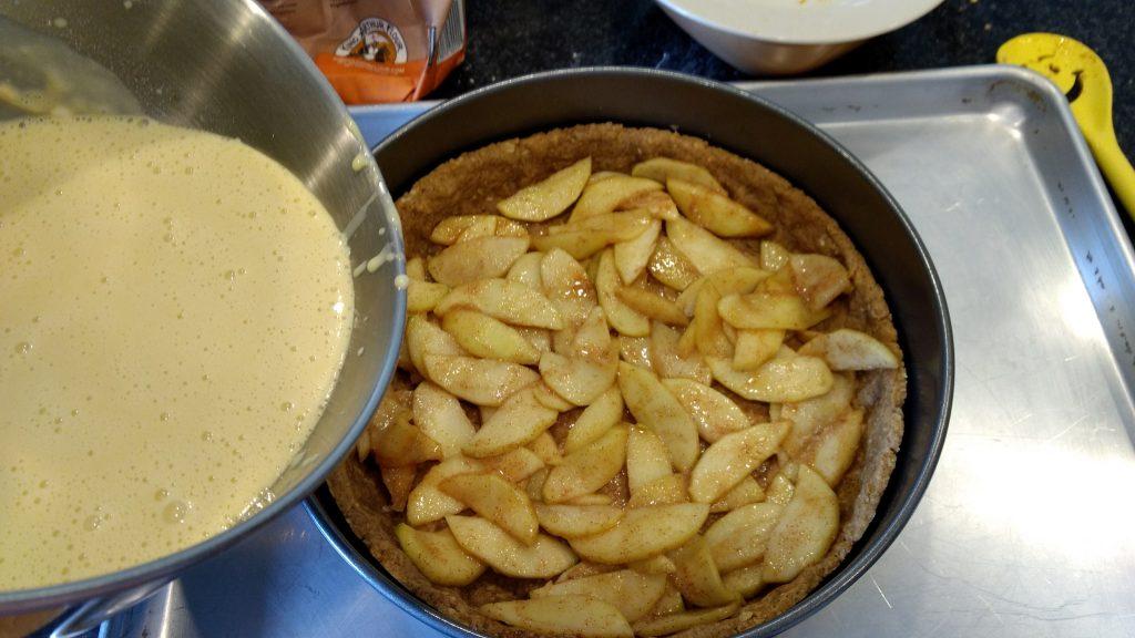 adding custard to pie feeling